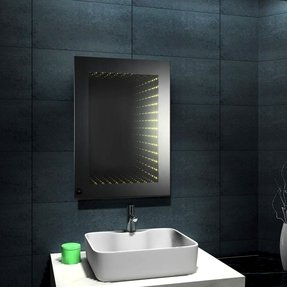 Lighted Shaving Mirror Foter