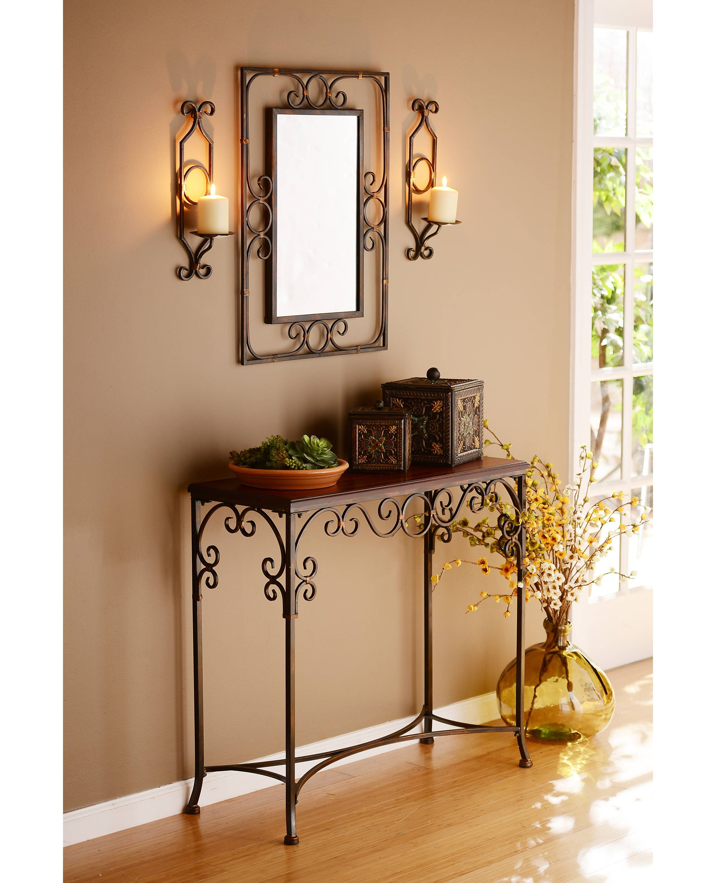 High Quality Metal Entry Table