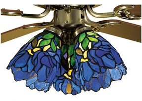Tiffany Style Ceiling Fan Light Shades Foter
