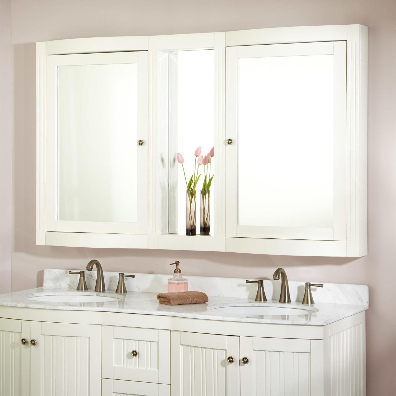 Gentil Mirrored Medicine Cabinets Surface Mount 1