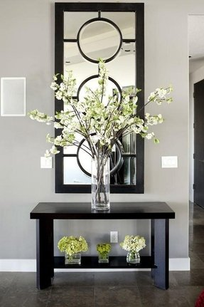 Modern large wall mirror