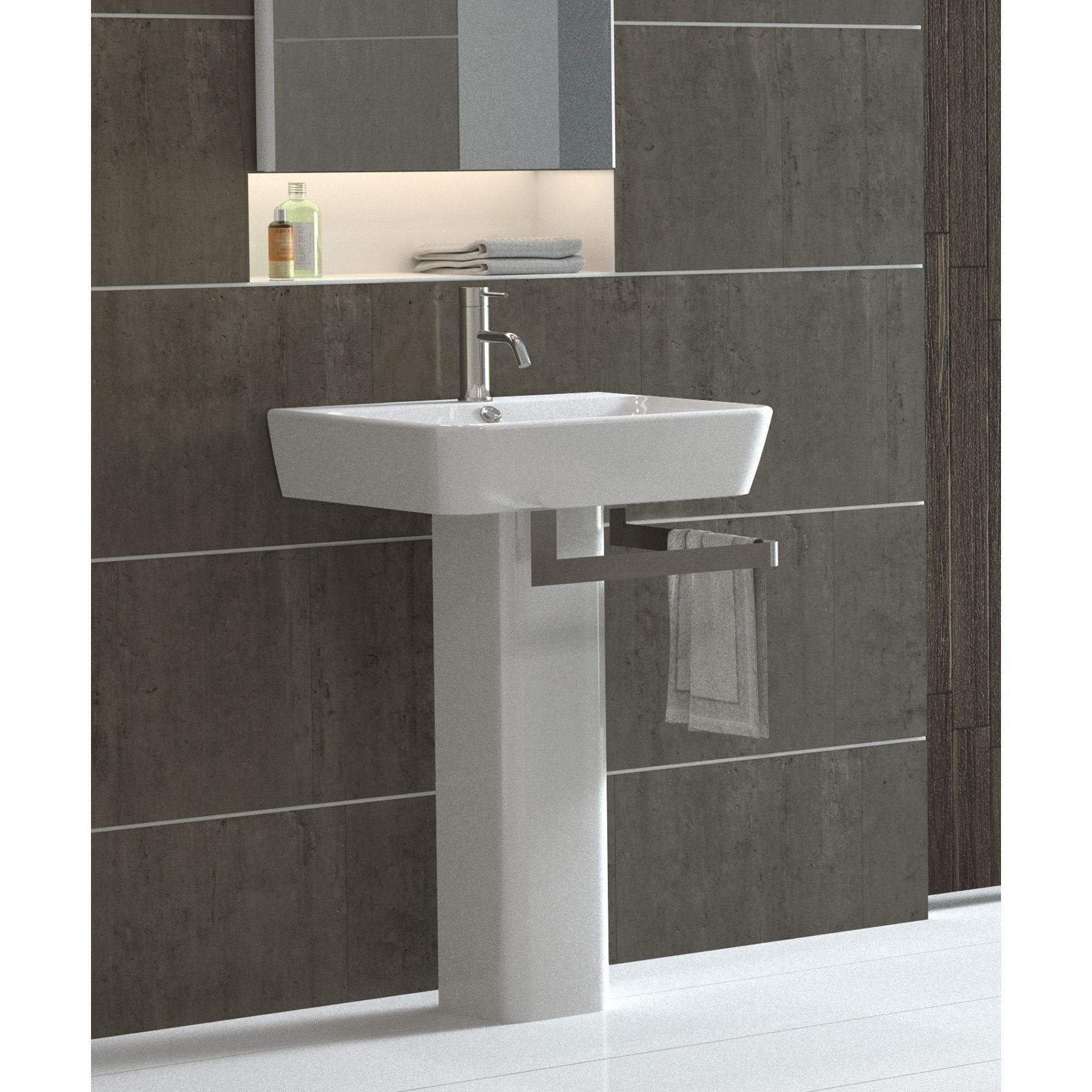 Modern Pedestal Sinks For Small Bathrooms 1