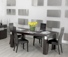 Modern wenge dining table 1