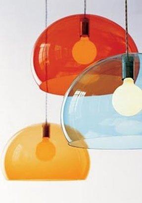 Orange glass lamp foter orange glass pendant light aloadofball Image collections