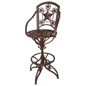 Outdoor Swivel Bar Stools With Backs