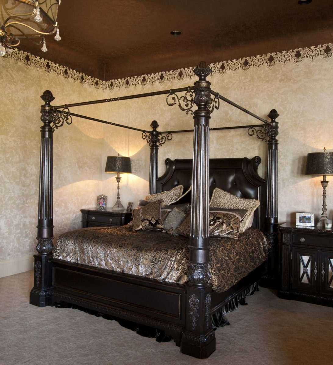 Queen size four poster bed 2 & Queen Size Four Poster Bed - Foter