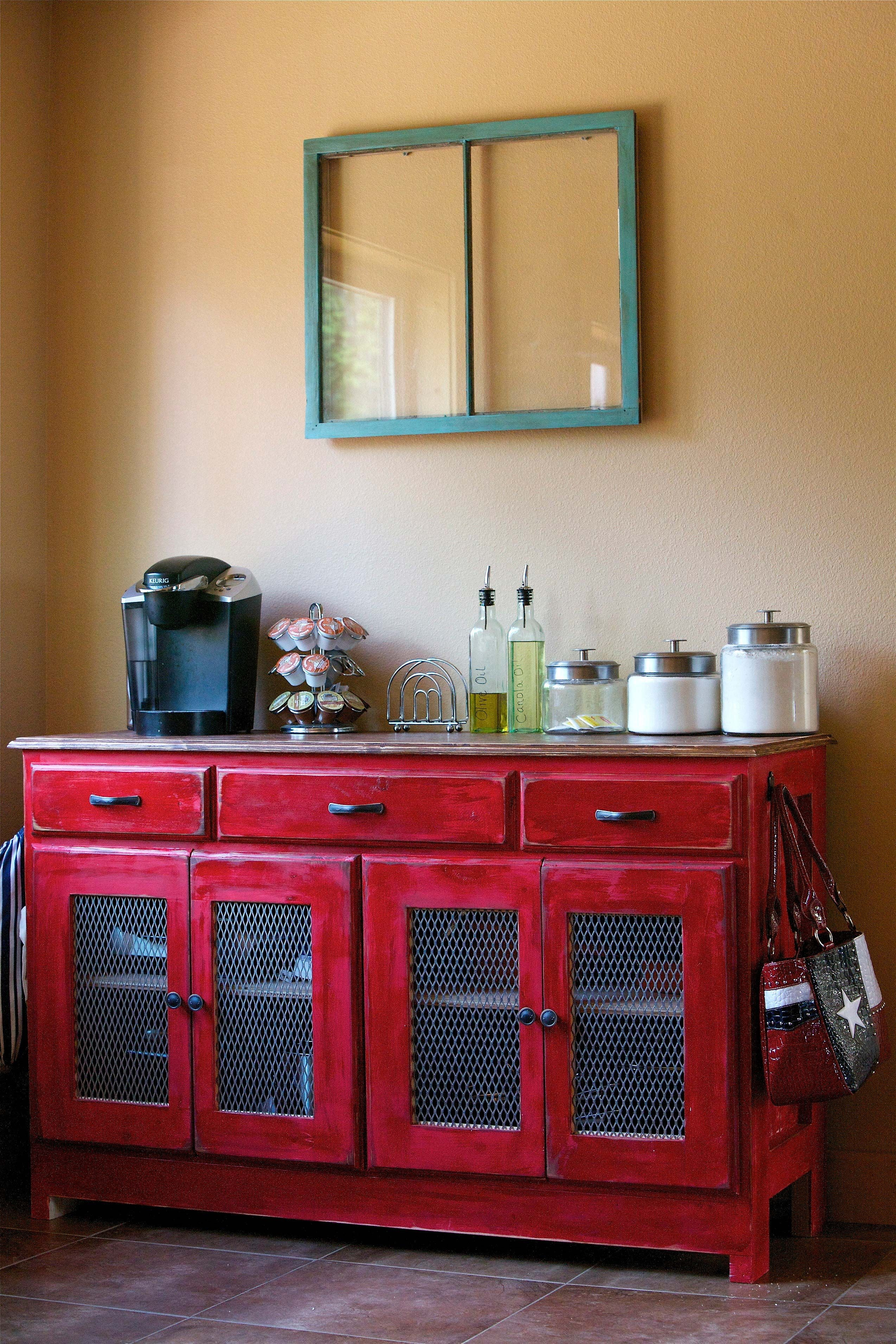 Red Buffet Furniture
