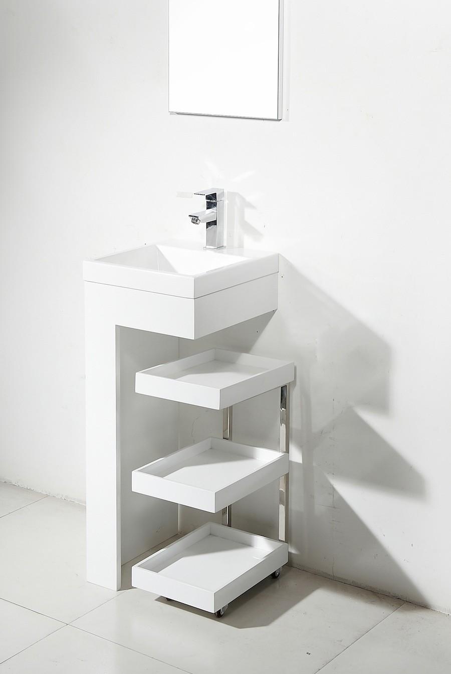 Beau Modern Pedestal Sinks For Small Bathrooms   Ideas On Foter