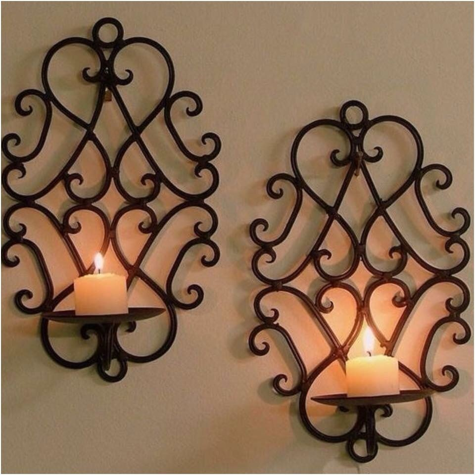 Rustic Candle Wall Sconces