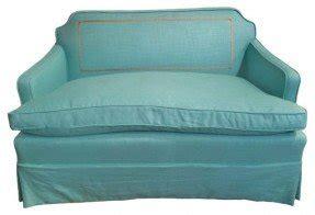 Single Cushion Leather Sofa