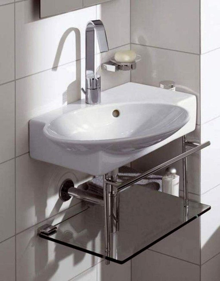 Charmant Small Bathroom Pedestal Sink