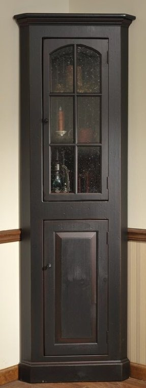 black corner cabinet - ideas on foter