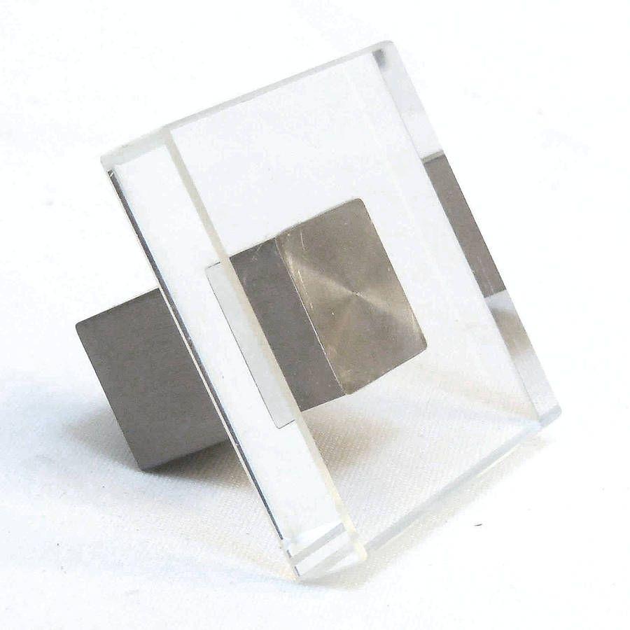 Square Cabinet Pull 19