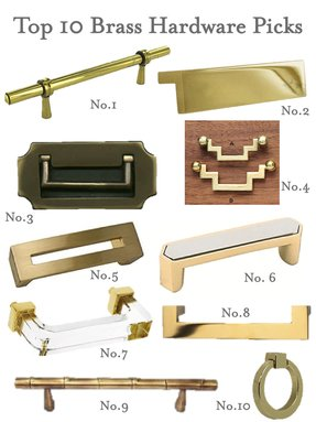 Square cabinet pull 5