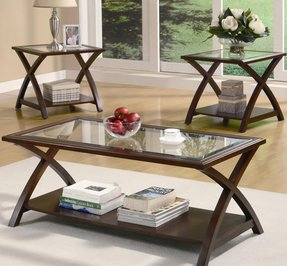 Three Piece Coffee Table Set - Foter