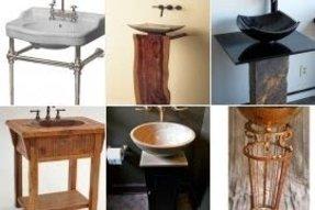 Vessel Pedestal Sink Foter