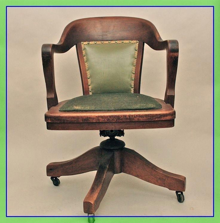 Beau Wooden Swivel Office Chair   Ideas On Foter