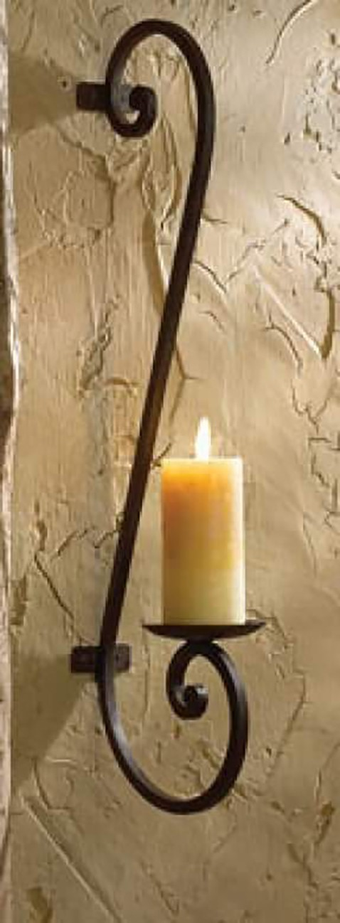 one the candle handle above design wrought awesome sconce wall ron sconces antique rod iron fixture
