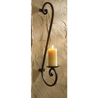Wall sconces candles wrought iron 1