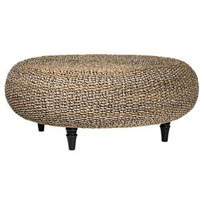 Water hyacinth coffee table