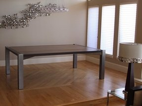 Wenge dining table 10
