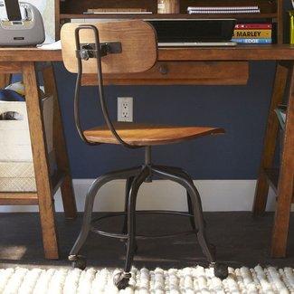 Wooden Swivel Office Chair Ideas On Foter