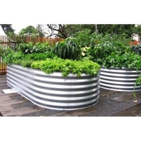 Large metal planters outdoor interior design ideas large metal planter bo foter workwithnaturefo