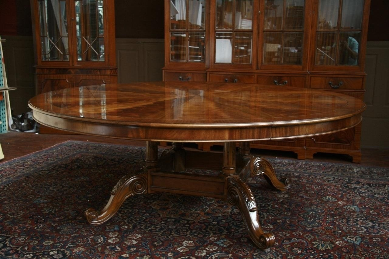 Beautiful Big Round Tables