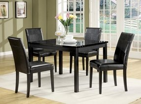 Black Kitchen Table Chairs Black marble dining table set foter black marble dining table set 22 workwithnaturefo