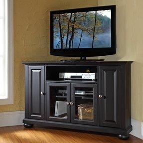Black Wood Corner Tv Stand Foter