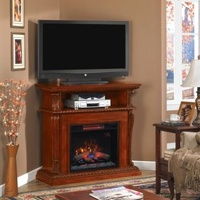 Corner Electric Fireplace Insert Ideas On Foter