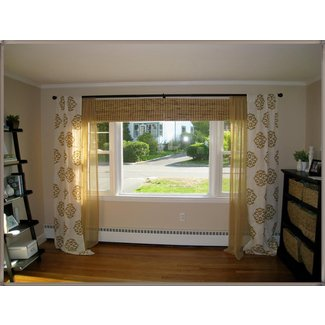 Curtains for large picture windows