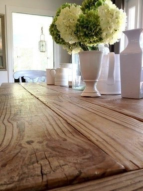 Distressed wood kitchen tables 10