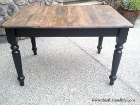 Distressed Wood Kitchen Tables - Ideas on Foter