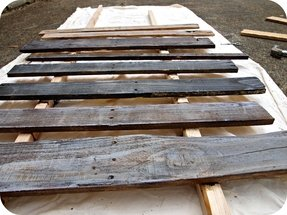 Distressed wood kitchen tables 5