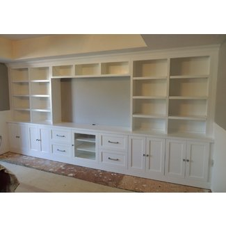 Entertainment center bookshelves 1