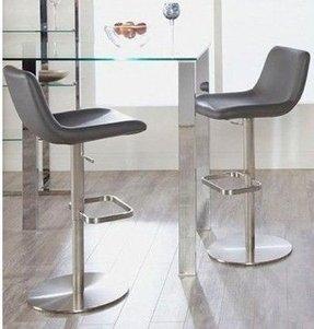 Euro Style Sierra Adjule Bar Stool Modern Stools And