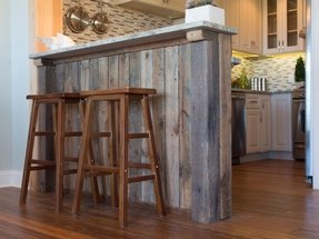 How to make a kitchen bar