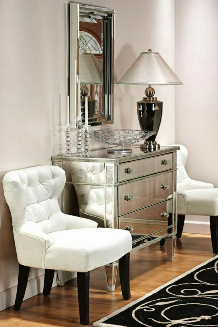 Mirrored Drawer Chest Foter