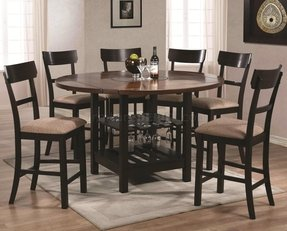 Round Dining Table For 6 With Leaf Foter