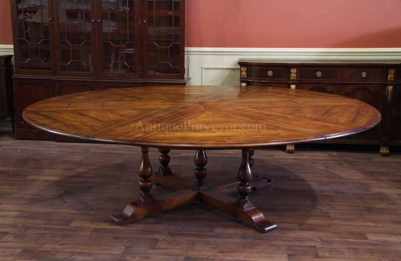 Wonderful Large Round Dining Table Seats 12