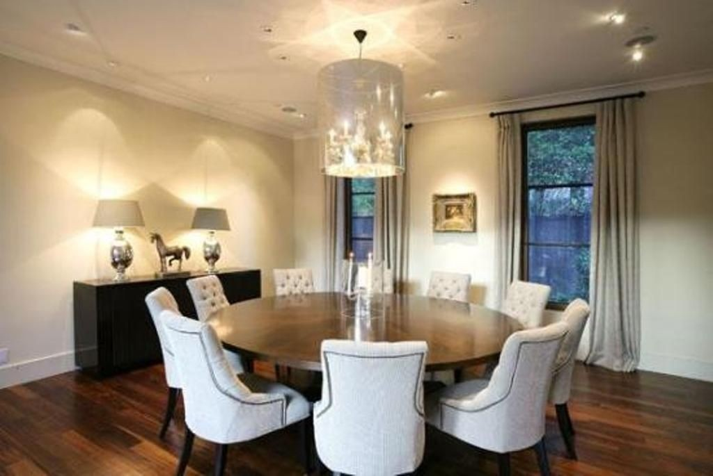 Awesome Large Round Table