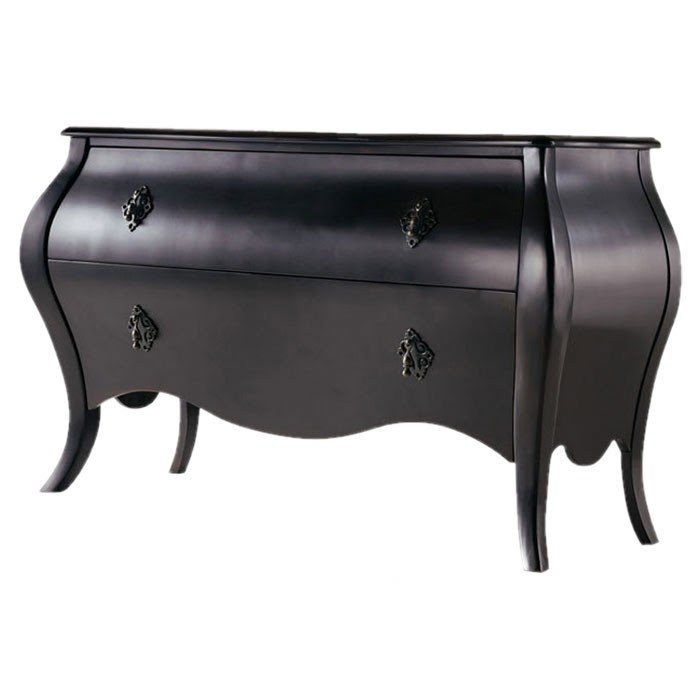 Melange Couture 2 Drawer Bombe Chest