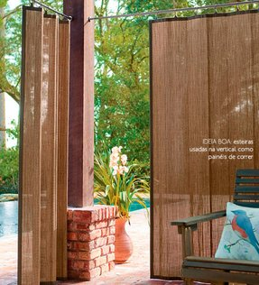 Outdoor bamboo panels 2
