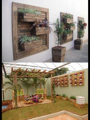 pleasant design outdoor wall planters. Outdoor wall decor ideas Wall Decorations Garden  Foter