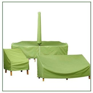 Patio table covers with umbrella hole 1
