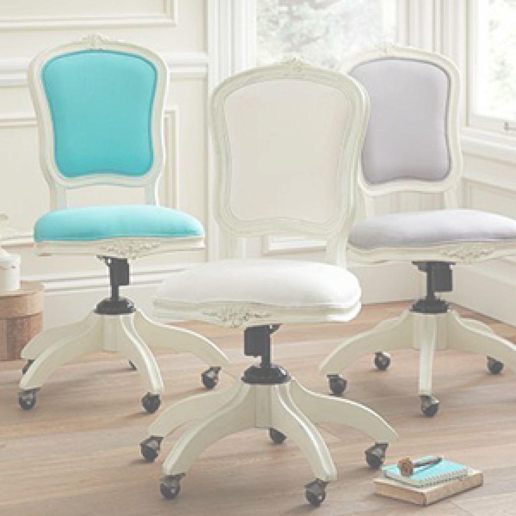 Charmant Purple Vanity Chair