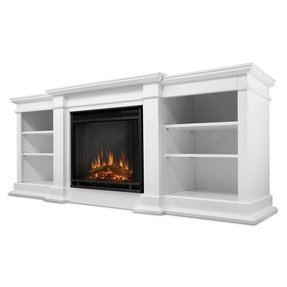 Real flame fireplace tv stand 2