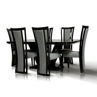 Magnificent Black Marble Dining Table Set Ideas On Foter Home Interior And Landscaping Ologienasavecom