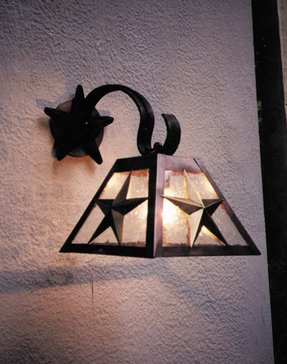 Star wall sconce 11